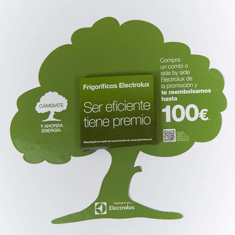 Expositor Electrolux
